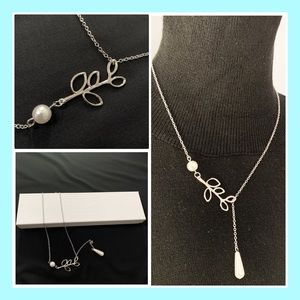 Perl Chain Necklace